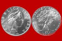 3f29dc8dc3 ANNO INTERNAZIONALE DELLA PACE 1986 MONETA 500 LIRE D'ARGENTO INCASTONATA  IN PORTACHIAVI GIOIELLO UNICO